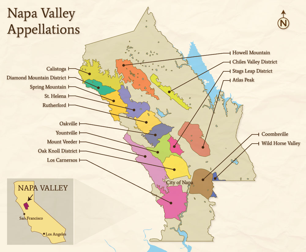 Fav 5 wine regions stephanie piche for Best time to visit napa valley wine country