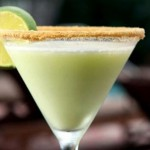 frozen key lime cocktail