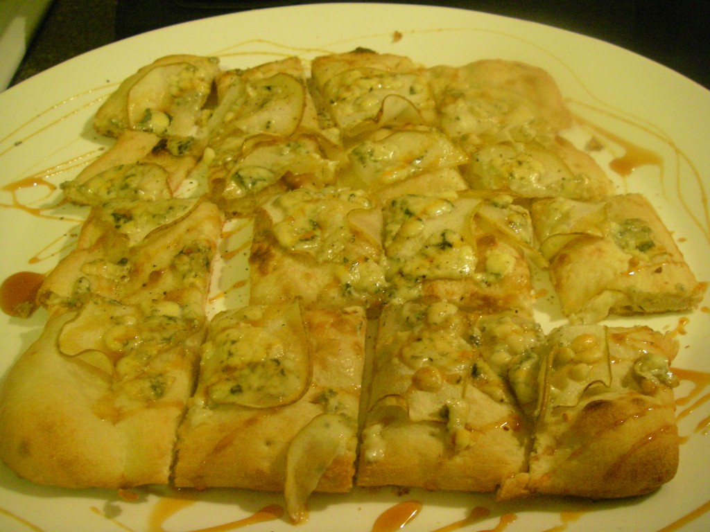 Caramel-Pear Flatbread