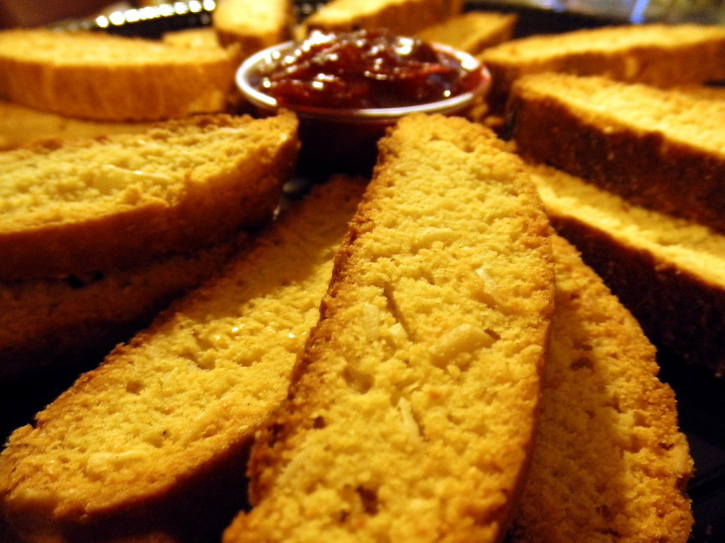 Parmesan Biscotti